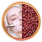 Cách làm mặt nạ bột đậu đỏ trị mụn sau 1 đêm hết sạch mụn